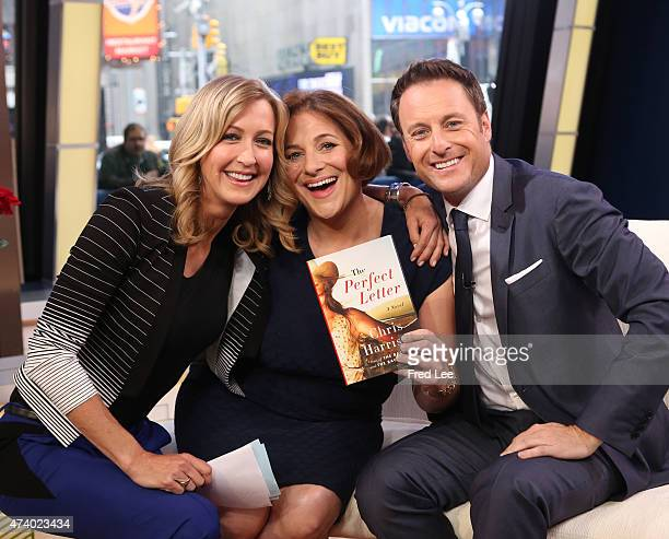 AMERICA Chris Harrison of Walt Disney Television via Getty Images's The Bachelorette and writer Jennifer Weiner is a guest on Good Morning America...