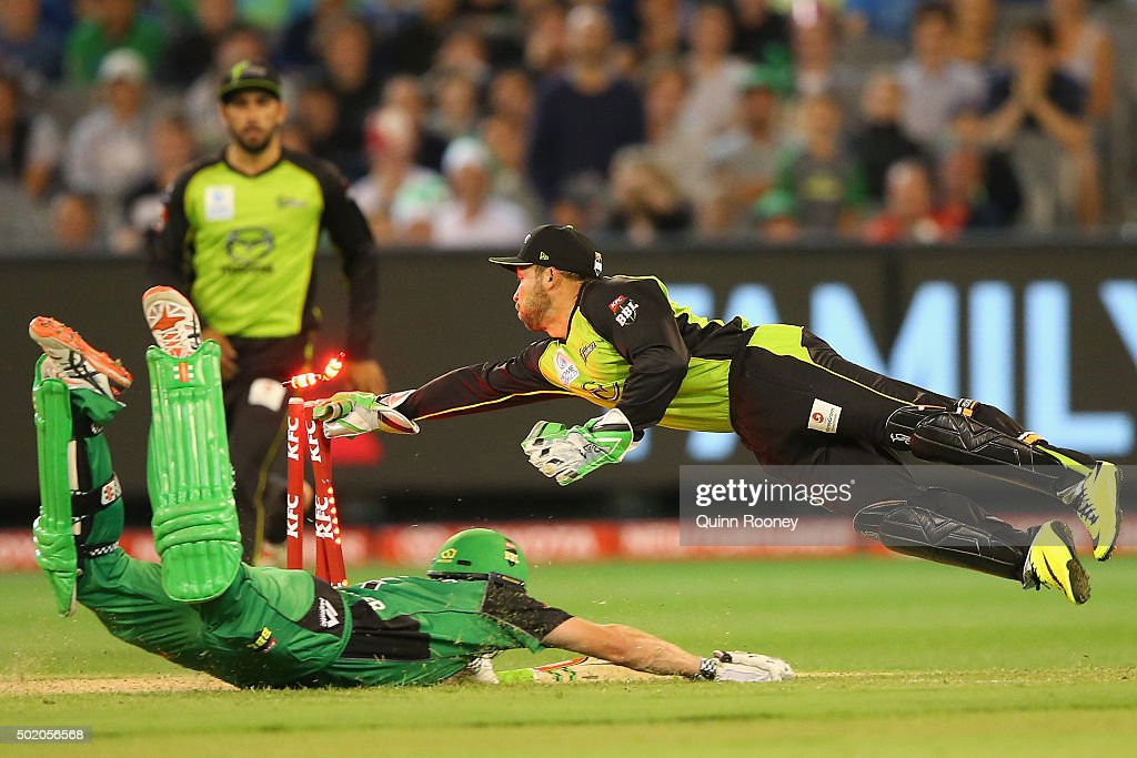 Big Bash League - Melbourne Stars v Sydney Thunder