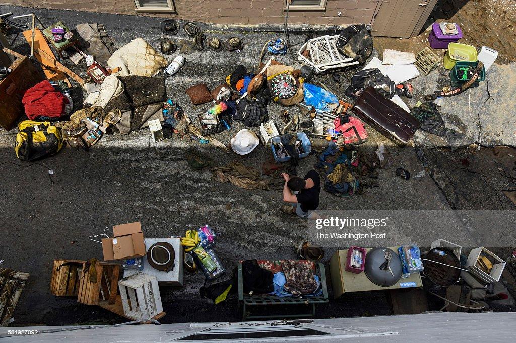 Flooding in Ellicott City, Maryland : News Photo