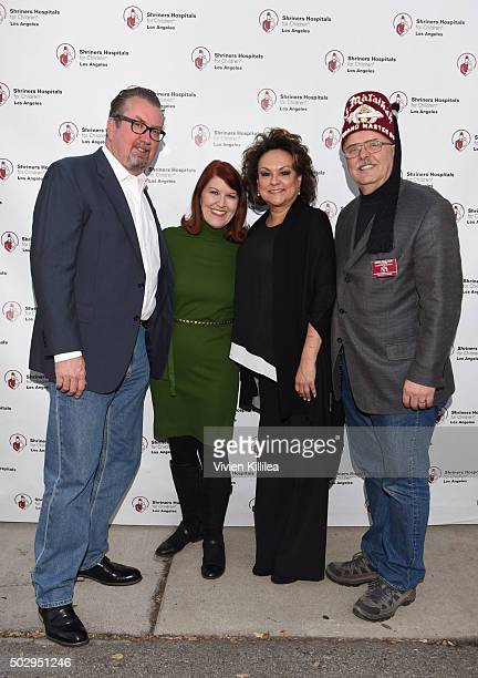 Chris Haston actress Kate Flannery Director of Marketing and Public Relations at Shriners Hospital for Children Los Angeles Carla Valenzuela and...