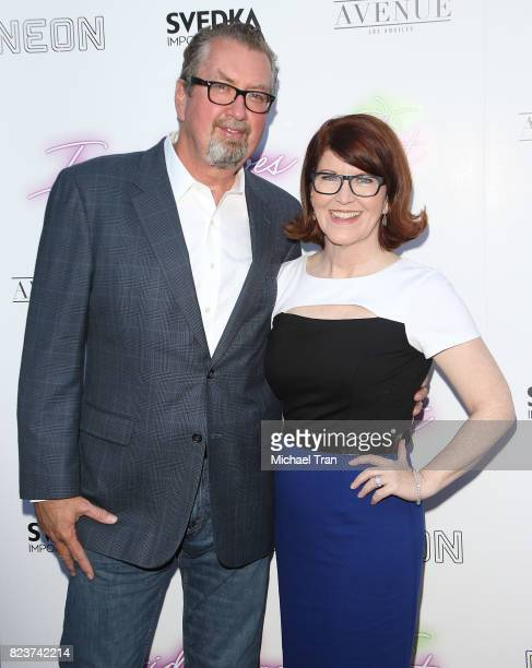 Chris Haston and Kate Flannery arrive at the Los Angeles premiere of Neon's Ingrid Goes West held at ArcLight Hollywood on July 27 2017 in Hollywood...