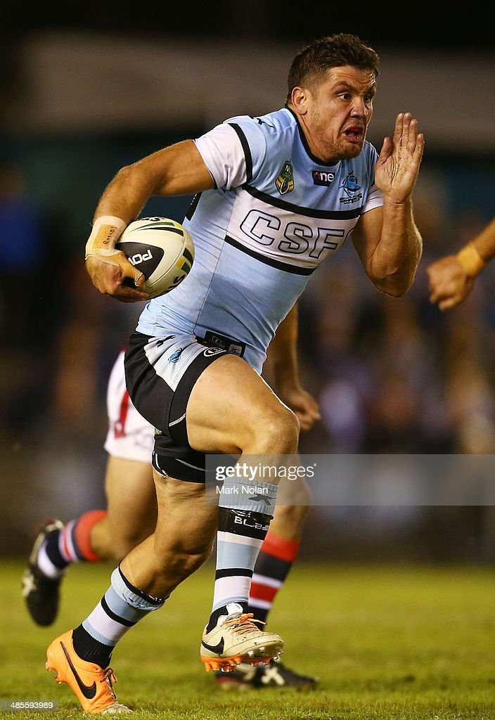 NRL Rd 7 - Sharks v Roosters : News Photo