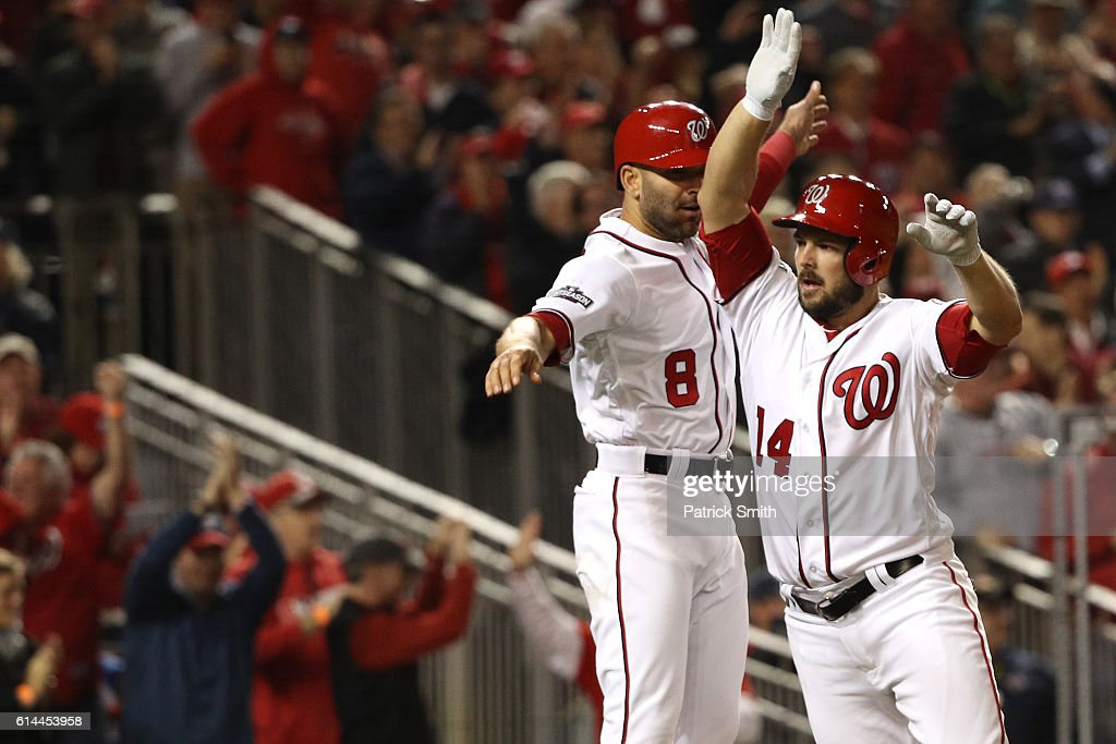 Division Series - Los Angeles Dodgers v Washington Nationals - Game Five