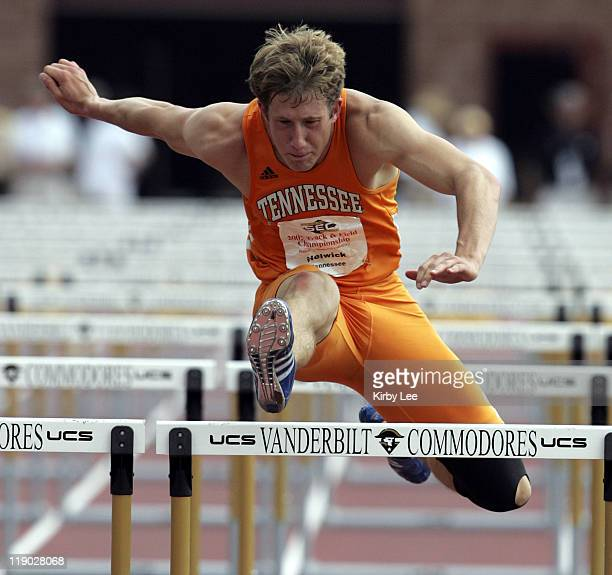 Chris Helwick of Tennessee ran 15.06 in the decathlon 110-meter high hurdles en route to winning the two-day 10-event competition with 7,780 points...
