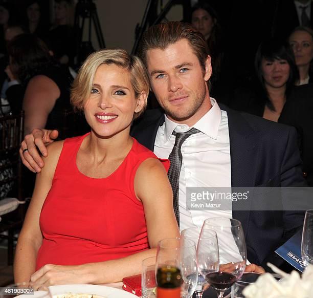 Chris Hemsworth and Elsa Pataky attend the 3rd annual Sean Penn Friends HELP HAITI HOME Gala benefiting J/P HRO presented by Giorgio Armani at...