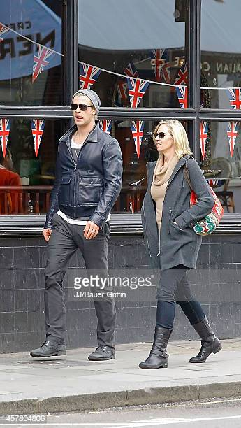 Chris Hemsworth and his mother Leonie Hemsworth are seen on May 10, 2012 in London, United Kingdom.