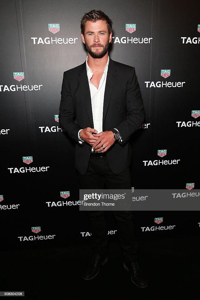 TAG Heuer Welcomes Chris Hemsworth As Ambassador