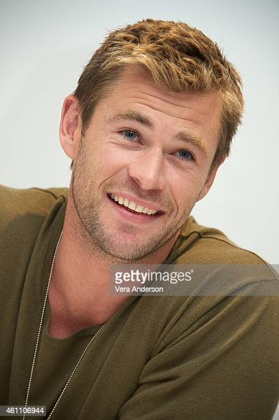 Chris Hemsworth at the 'Blackhat' Press Conference at the Four Seasons Hotel on January 6 2015 in Beverly Hills California
