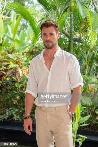 Chris Hemsworth at the Men In Black International Press Conference on May 27 2019 in Nusa Dua Bali Indonesia