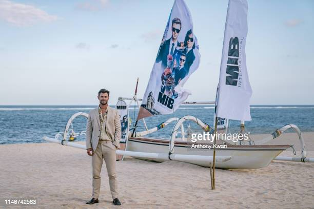 Chris Hemsworth attends a photocall for Men in Black International during the PanAsian Media Summit Bali event on May 28 2019 in Denpasar Bali...
