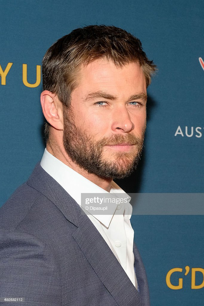 Chris Hemsworth attends A Virtual Tour of Australia at Hudson Mercantile on January 23, 2017 in New York City.
