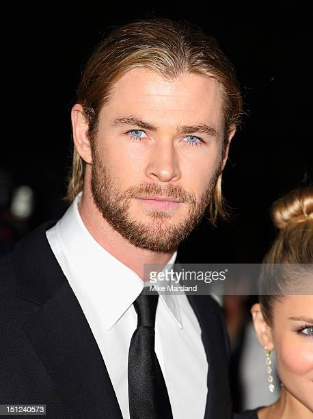 Chris Hemsworth attends GQ Men of the Year Awards at The Royal Opera House on September 4 2012 in London England