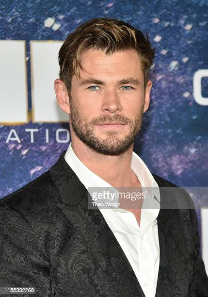Chris Hemsworth attends Men In Black International World Premiere at AMC Loews Lincoln Square 13 on June 11 2019 in New York City