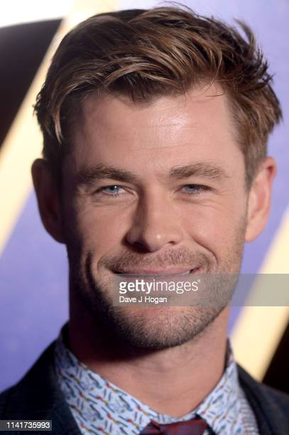 Chris Hemsworth attends the 'Avengers Endgame' UK Fan Event at Picturehouse Central on April 10 2019 in London England