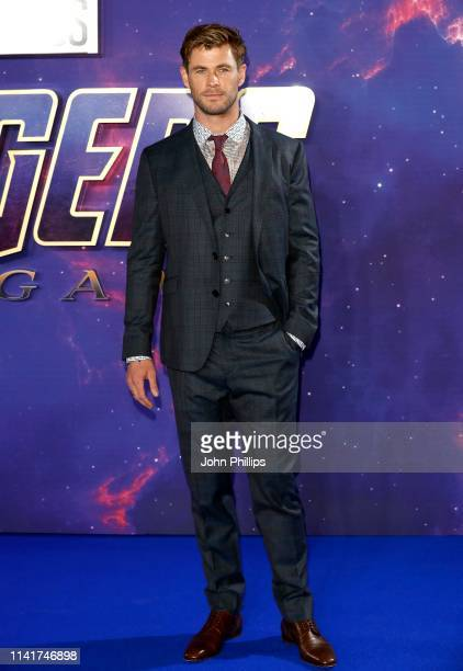 Chris Hemsworth attends the 'Avengers Endgame' UK Fan Event at the Picturehouse Central on April 10 2019 in London England