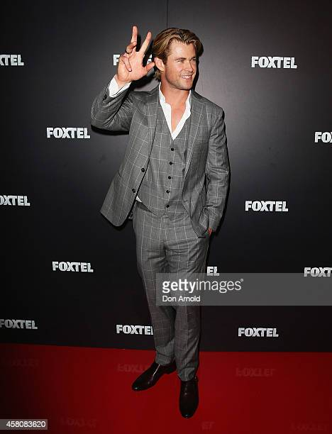 Chris Hemsworth attends the Foxtel season launch at Sydney Theatre on October 30 2014 in Sydney Australia