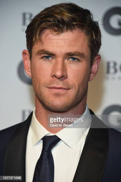 Chris Hemsworth attends the GQ Men of the Year Awards 2018 in association with HUGO BOSS at Tate Modern on September 5 2018 in London England