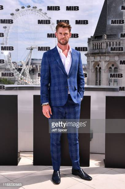 Chris Hemsworth attends the Men in Black: International photocall at The Corinthia Hotel on June 02, 2019 in London, England.