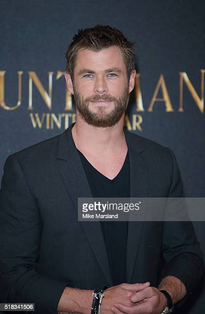 Chris Hemsworth attends the photocall for 'The Huntsman Winter's War' at Claridges Hotel on March 31 2016 in London England