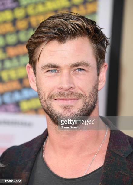 "Chris Hemsworth attends the Sony Pictures' ""Once Upon A Time...In Hollywood"" Los Angeles Premiere on July 22, 2019 in Hollywood, California."