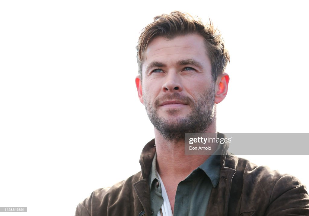 Chris Hemsworth Launches TAG Heuer Autavia Collection : News Photo