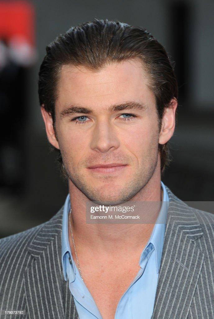 Chris Hemsworth attends the World Premiere of 'Rush' at Odeon Leicester Square on September 2, 2013 in London, England.