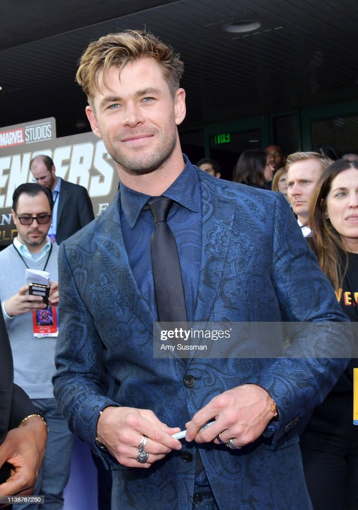 "World Premiere Of Walt Disney Studios Motion Pictures ""Avengers: Endgame"" - Red Carpet : News Photo"