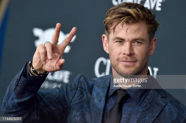 Chris Hemsworth attends the World Premiere of Walt Disney Studios Motion Pictures 'Avengers Endgame' at Los Angeles Convention Center on April 22...