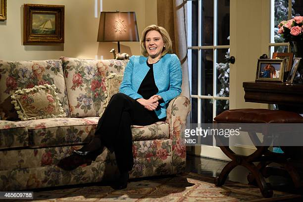 LIVE Chris Hemsworth Episode 1677 Pictured Kate McKinnon as Hillary Rodham Clinton during the Hillary Cold Open skit on March 7 2015