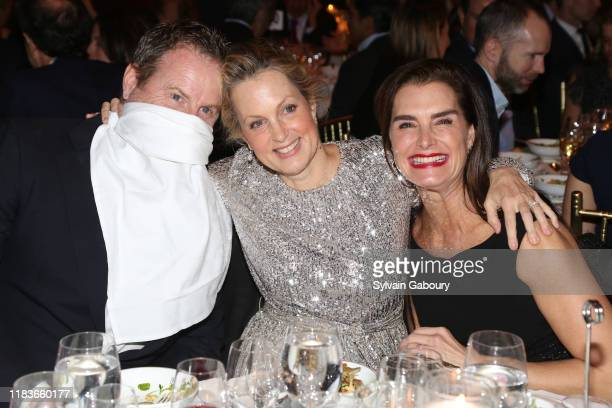Chris Henchy Ali Wentworth and Brooke Shields attend Child Mind Institute 2019 Child Advocacy Award Dinner at Cipriani 42nd Street on November 19...