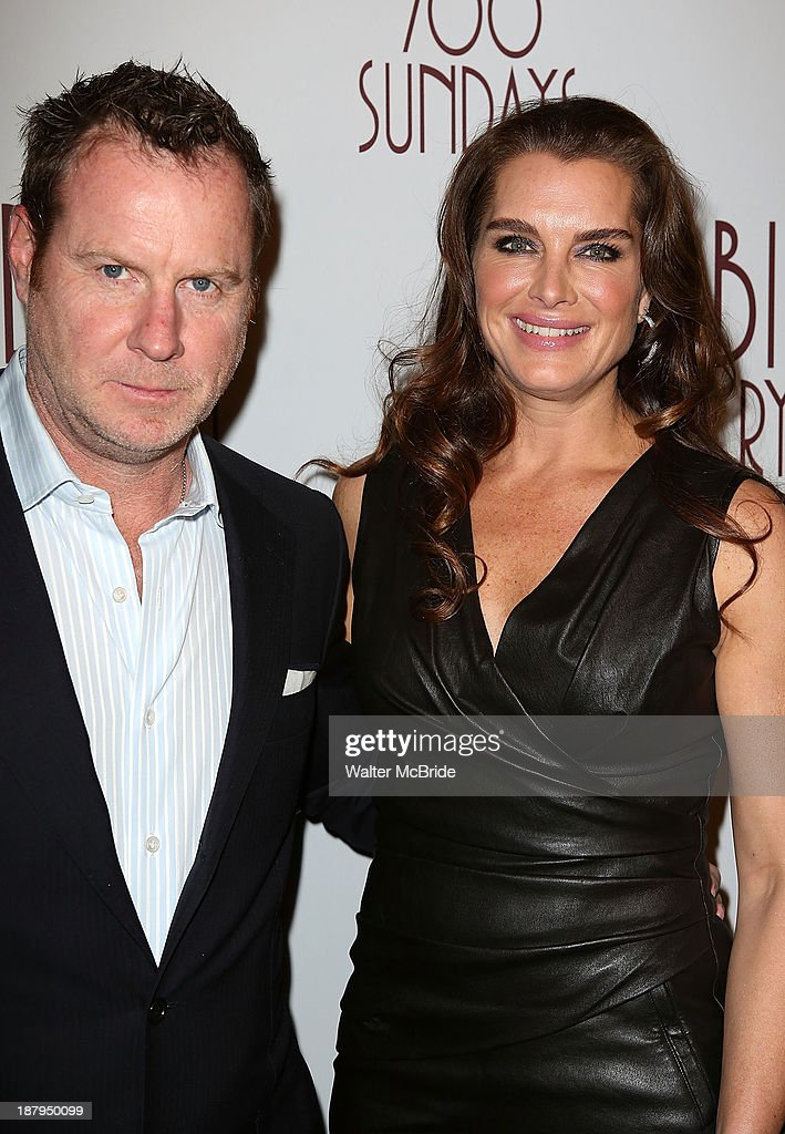 Chris Henchy and Brooke Shields attend the 'Billy Crystal - 700 Sundays' Broadway Opening Night at the Imperial Theatre on November 13, 2013 in New York City.