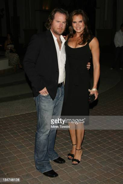 """Chris Henchy and Brooke Shields during Season Four premiere of """"Nip/Tuck"""" - Los Angeles- Arrivals at Paramount Studios in Hollywood, CA, United..."""