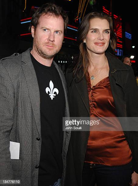 """Chris Henchy and Brooke Shields during World Premiere of """"Borat: Cultural Learnings of America For Make Benefit Glorious Nation of Kazakhstan"""" - Red..."""