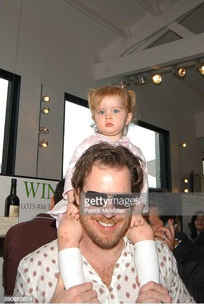 Chris Henchy and Rowan Henchy attend John Varvatos' 3rd Annual Stuart House Charity Benefit at John Varvatos Boutique on March 5 2005 in West...