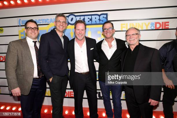 Chris Henchy attends the Impractical Jokers The Movie Premiere Screening and Party on February 18 2020 in New York City 739100