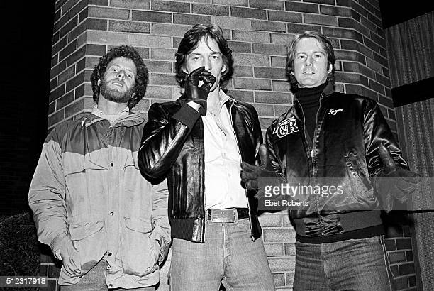 Chris Hillman Gene Clark and Roger McGuinn formerly of The Byrds in New York City on February 23 1979