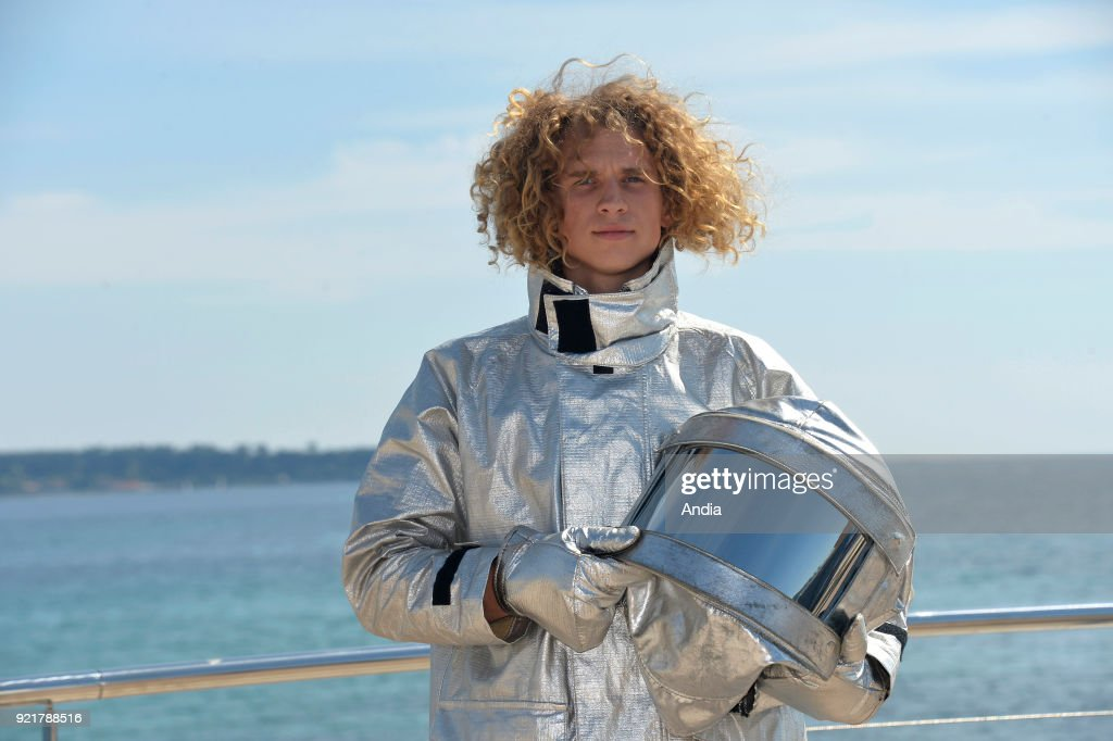 Chris Horsley posing for a photocall on the occasion of the MipTV, International Television Programme Market, in Cannes (south-eastern France) on .