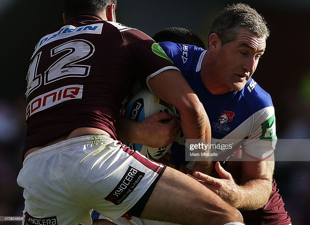 NRL Rd 9 - Sea Eagles v Knights
