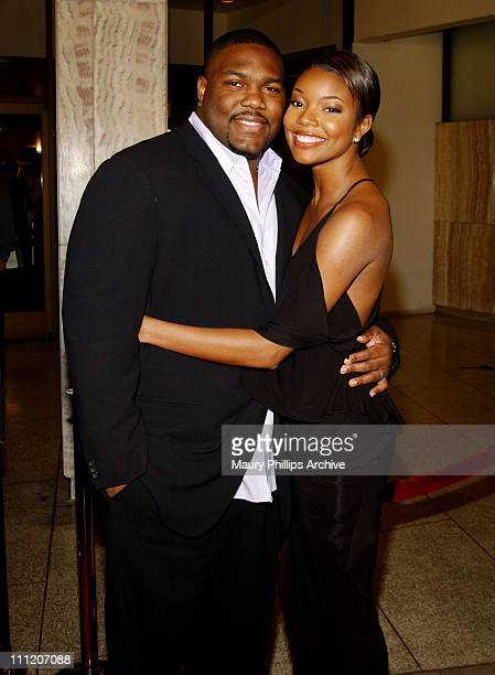 Chris Howard and Gabrielle Union during Deliver Us From Eva Premiere at Cinerama Dome in Los Angeles California United States