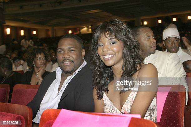 Chris Howard and Gabrielle Union during The 2003 Film Life Black Movie Awards at Jackie Gleason Theater in Miami Beach Fl United States