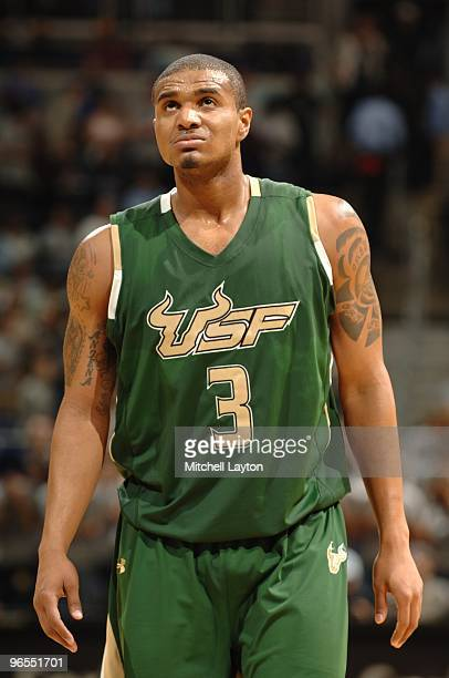Chris Howard of the South Florida Bulls looks on during a college basketball game against the Georgetown Hoyas on February 3 2010 at the Verizon...