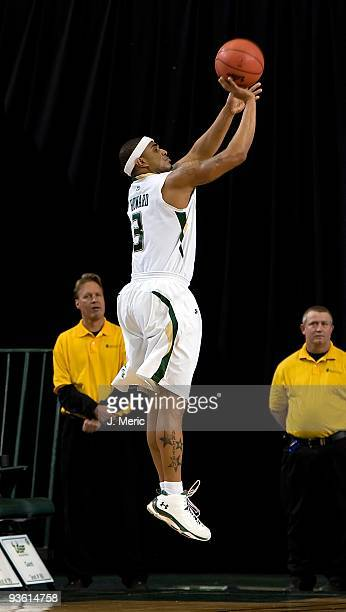 Chris Howard of the South Florida Bulls shoots against the Florida Atlantic Owls during the game at the SunDome on November 27 2009 in Tampa Florida