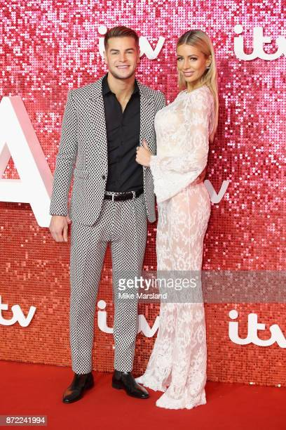 Chris Hughes and Olivia Attwood arrive at the ITV Gala held at the London Palladium on November 9 2017 in London England