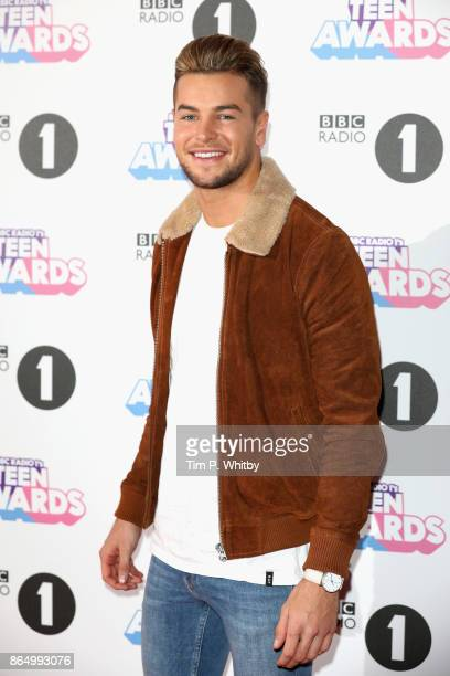 Chris Hughes attends the BBC Radio 1 Teen Awards 2017 at Wembley Arena on October 22 2017 in London England