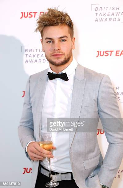 Chris Hughes attends the British Takeaways Awards in association with Just Eat at The Savoy Hotel on November 27 2017 in London England The awards...