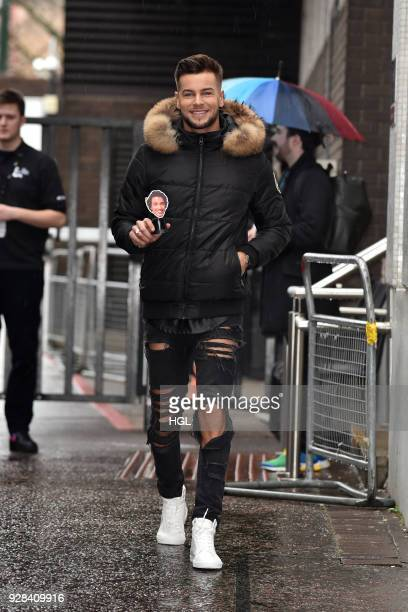 Chris Hughes seen at the ITV Studios on March 7 2018 in London England