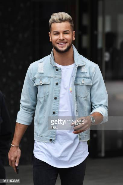Chris Hughes seen out in London on May 3 2018 in London England