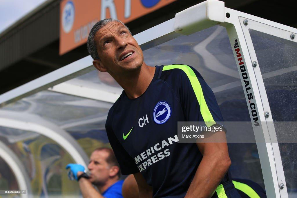 AFC Wimbledon v Brighton and Hove Albion - Pre-Season Friendly : News Photo