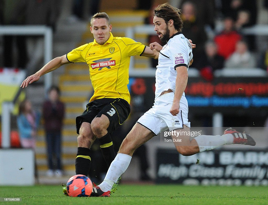 Burton Albion v Hereford United - FA Cup First Round : News Photo