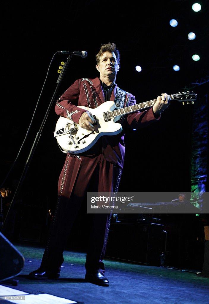 Chris Isaak performs live at 013 on June 15, 2010 in Tilburg, Netherlands.